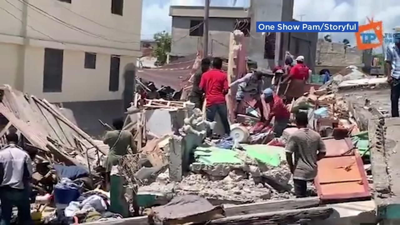 हाइटीमा ७.२ रेक्टर स्केलको शक्तिशाली भूकम्पले ३ सय ४ जनाको मृत्यु